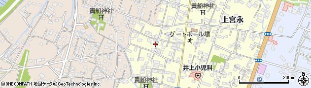 大分県中津市上宮永1175周辺の地図