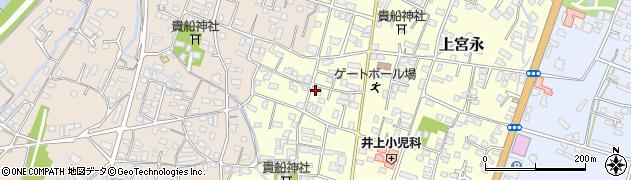 大分県中津市上宮永38周辺の地図