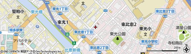 東洋メディック株式会社 福岡支店周辺の地図