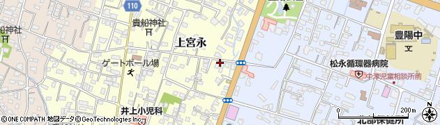 大分県中津市上宮永181周辺の地図