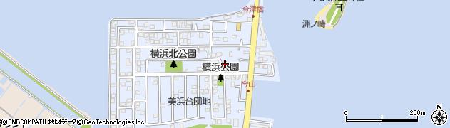 福岡県福岡市西区横浜周辺の地図