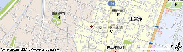 大分県中津市上宮永1990周辺の地図