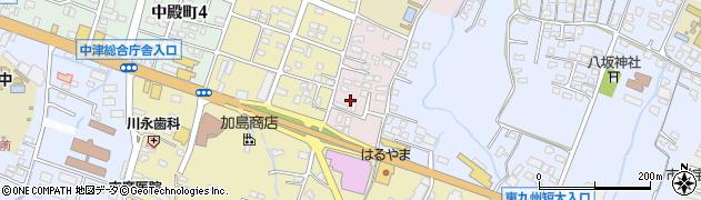 大分県中津市牛神662周辺の地図