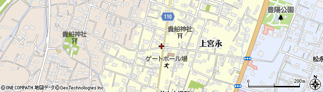 大分県中津市上宮永31周辺の地図
