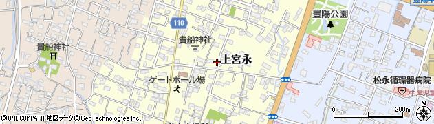 大分県中津市上宮永122周辺の地図