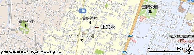 大分県中津市上宮永119周辺の地図