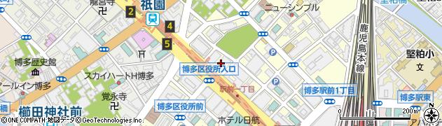 川崎重工業株式会社九州支社周辺の地図