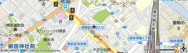 合同産業株式会社 福岡営業所周辺の地図
