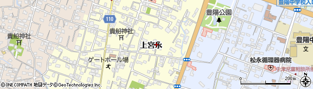 大分県中津市上宮永171周辺の地図