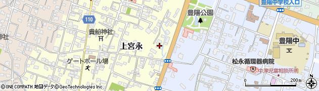 大分県中津市上宮永151周辺の地図