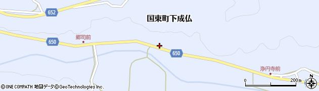 大分県国東市国東町下成仏1006周辺の地図