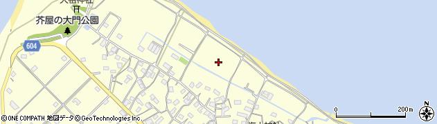 福岡県糸島市志摩芥屋周辺の地図