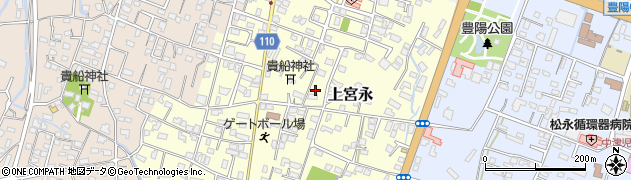 大分県中津市上宮永118周辺の地図