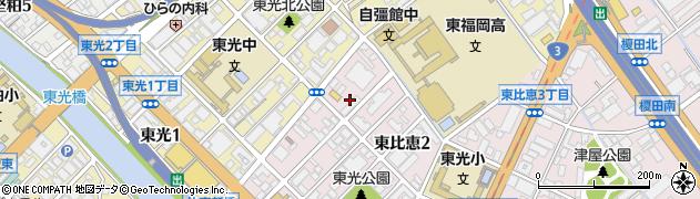 エヌ・ティ・ティ・インフラネット株式会社 九州支店周辺の地図