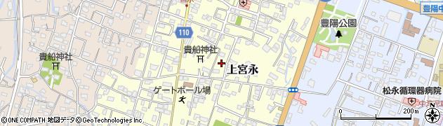 大分県中津市上宮永116周辺の地図