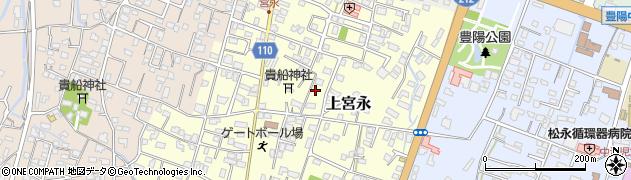大分県中津市上宮永115周辺の地図