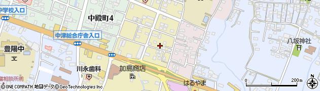大分県中津市牛神町1丁目周辺の地図
