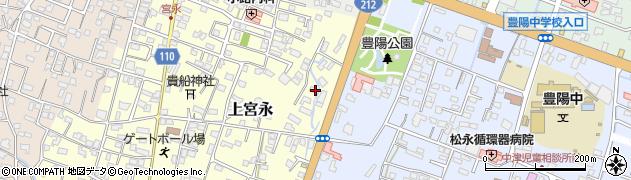 大分県中津市上宮永152周辺の地図