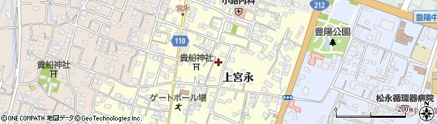大分県中津市上宮永114周辺の地図
