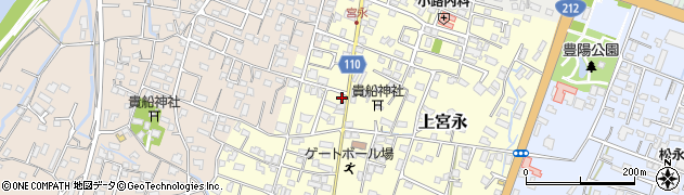大分県中津市上宮永45周辺の地図