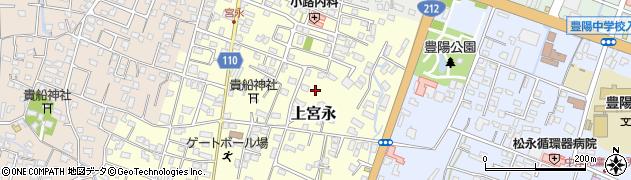 大分県中津市上宮永125周辺の地図