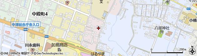 大分県中津市牛神658周辺の地図