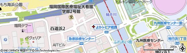 株式会社日立製作所 九州支社社会・公共システム営業部周辺の地図