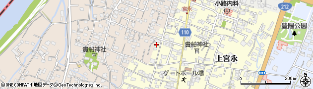 大分県中津市上宮永41周辺の地図