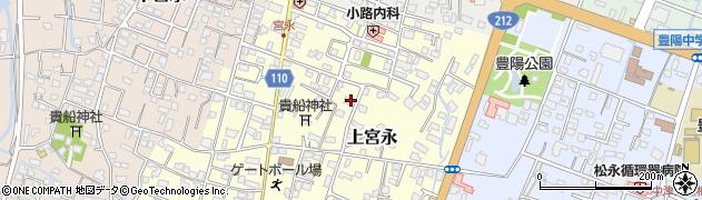 大分県中津市上宮永113周辺の地図