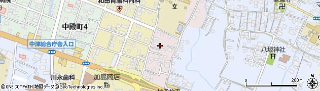 大分県中津市牛神657周辺の地図