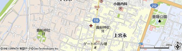大分県中津市上宮永48周辺の地図