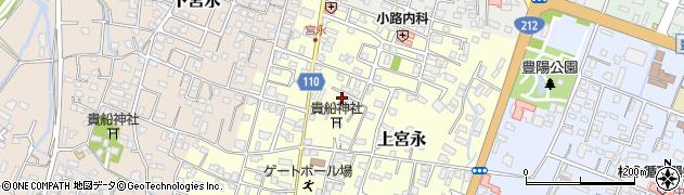 大分県中津市上宮永99周辺の地図