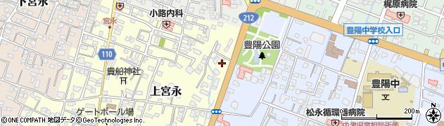 大分県中津市上宮永147周辺の地図