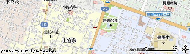 大分県中津市上宮永146周辺の地図