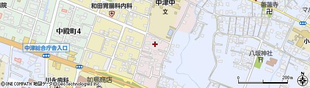 大分県中津市牛神655周辺の地図