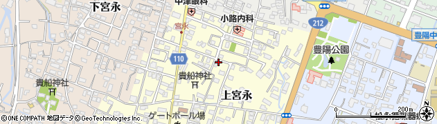 大分県中津市上宮永97周辺の地図