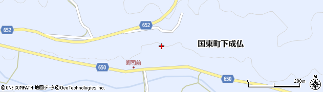 大分県国東市国東町下成仏797周辺の地図