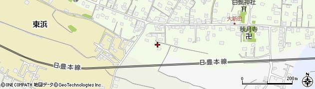 大分県中津市大新田1093周辺の地図
