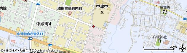 大分県中津市牛神652周辺の地図