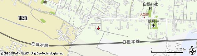 大分県中津市大新田945周辺の地図