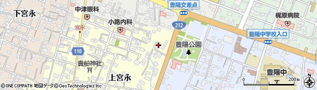 大分県中津市上宮永138周辺の地図
