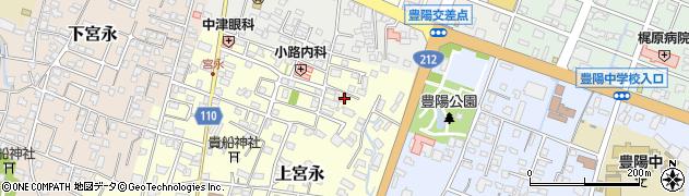 大分県中津市上宮永130周辺の地図