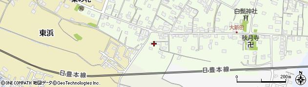 大分県中津市大新田943周辺の地図