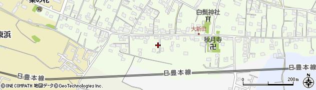 大分県中津市大新田956周辺の地図