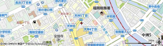日本旅行業協会九州支部周辺の地図