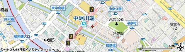 株式会社はせがわ 福岡本社総務部周辺の地図