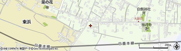 大分県中津市大新田940周辺の地図