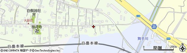 大分県中津市大新田1026周辺の地図