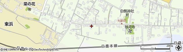 大分県中津市大新田954周辺の地図