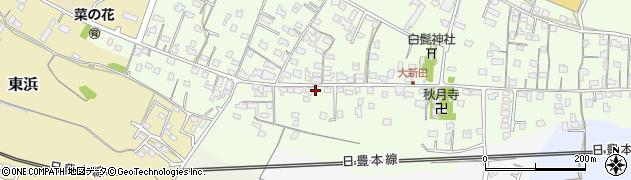 大分県中津市大新田955周辺の地図
